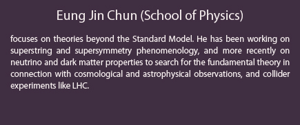 Eung Jin Chun (School of Physics)