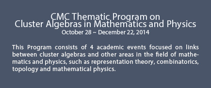 CMC Thematic Program on 