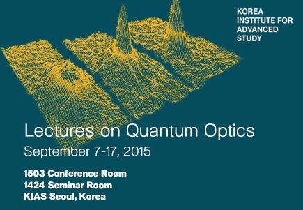 The lecture series is designed for 1st-year graduate students to understand the basic concepts and applications of Quantum Optics. The lectures will provide opportunities for young researchers to enhance both research and academic capacity through lectures and discussions.